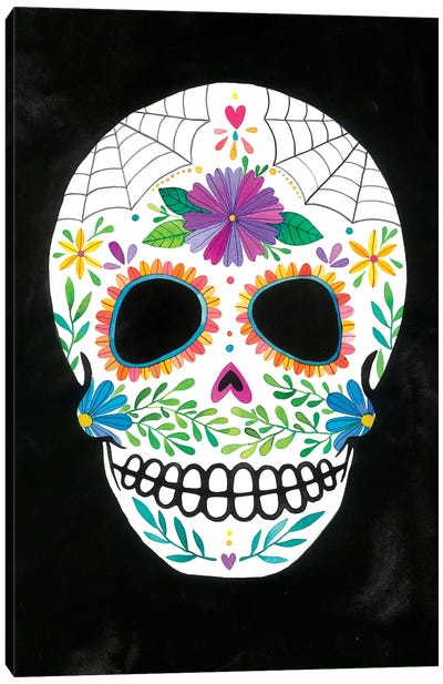 Sugar Skull II Canvas Art Print