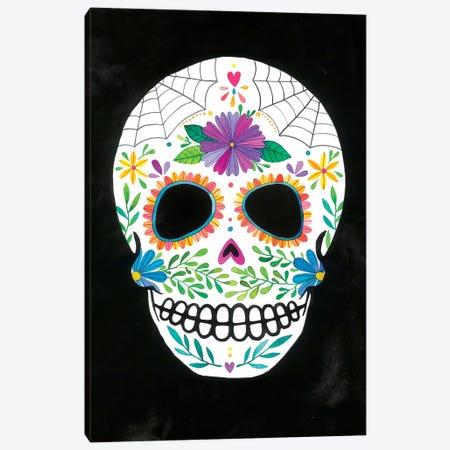 Sugar Skull II Canvas Print #AVC34} by Ana Victoria Calderón Canvas Print