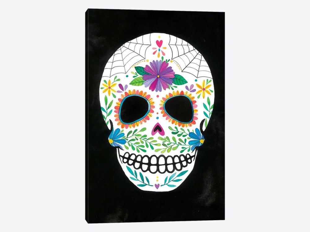 Sugar Skull II by Ana Victoria Calderón 1-piece Canvas Print