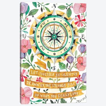 Compass Canvas Print #AVC38} by Ana Victoria Calderón Canvas Art