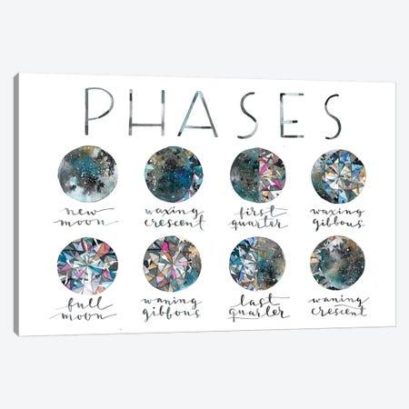 Diamond Phases Canvas Print #AVC39} by Ana Victoria Calderón Canvas Artwork