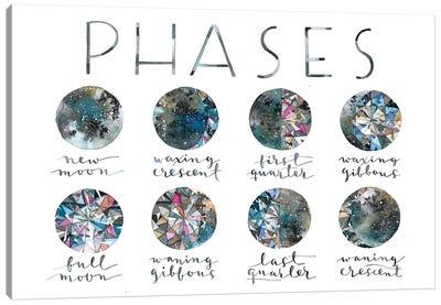 Diamond Phases Canvas Art Print