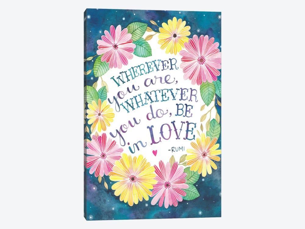 Be In Love by Ana Victoria Calderón 1-piece Canvas Artwork