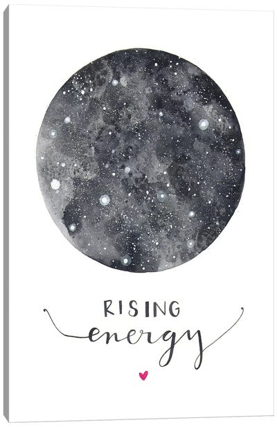 Rising Energy Canvas Art Print