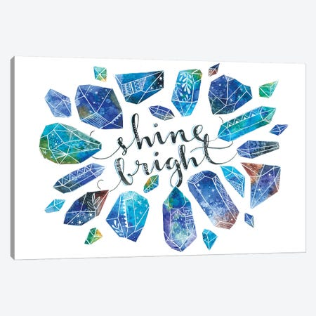 Shine Bright Canvas Print #AVC47} by Ana Victoria Calderón Canvas Artwork