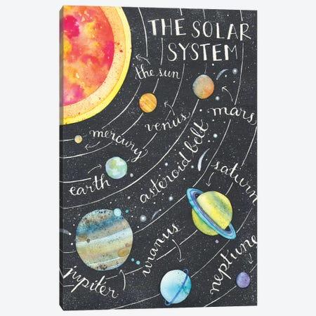 Solar System Canvas Print #AVC48} by Ana Victoria Calderón Art Print