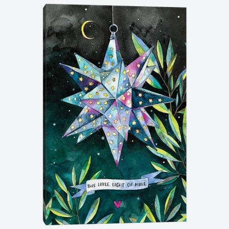 This Little Light Of Mine Canvas Print #AVC50} by Ana Victoria Calderón Canvas Wall Art