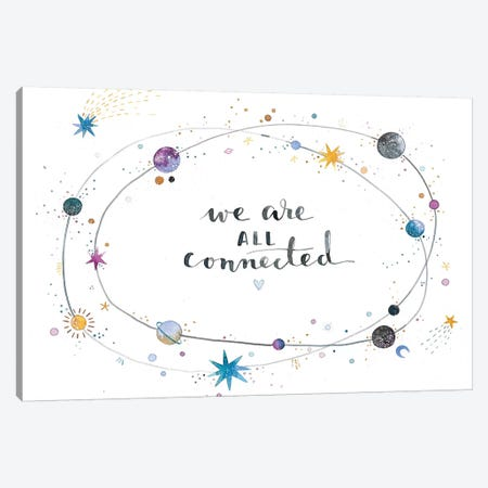 We Are All Connected Canvas Print #AVC51} by Ana Victoria Calderón Canvas Art