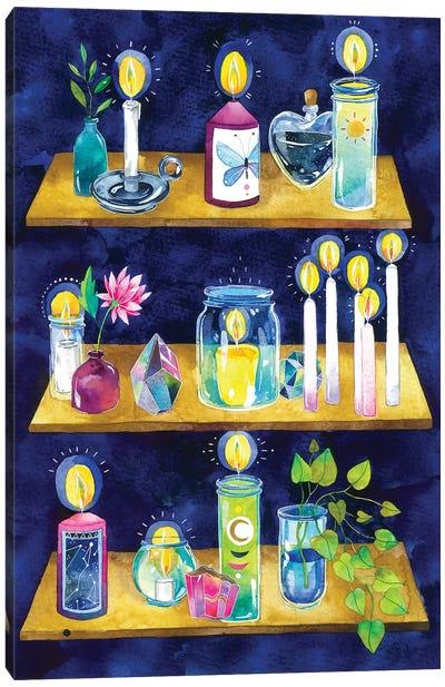 Wellness Altar Canvas Art Print