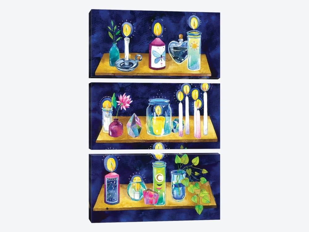 Wellness Altar by Ana Victoria Calderón 3-piece Art Print