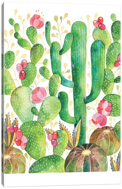 Cacti Canvas Art Print