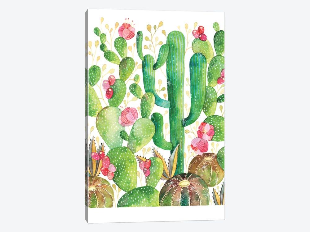 Cacti by Ana Victoria Calderón 1-piece Canvas Print