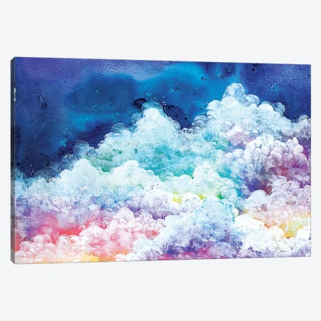 Clouds Canvas Print #AVC7} by Ana Victoria Calderon Canvas Art
