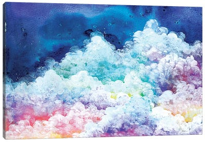 Clouds Canvas Art Print