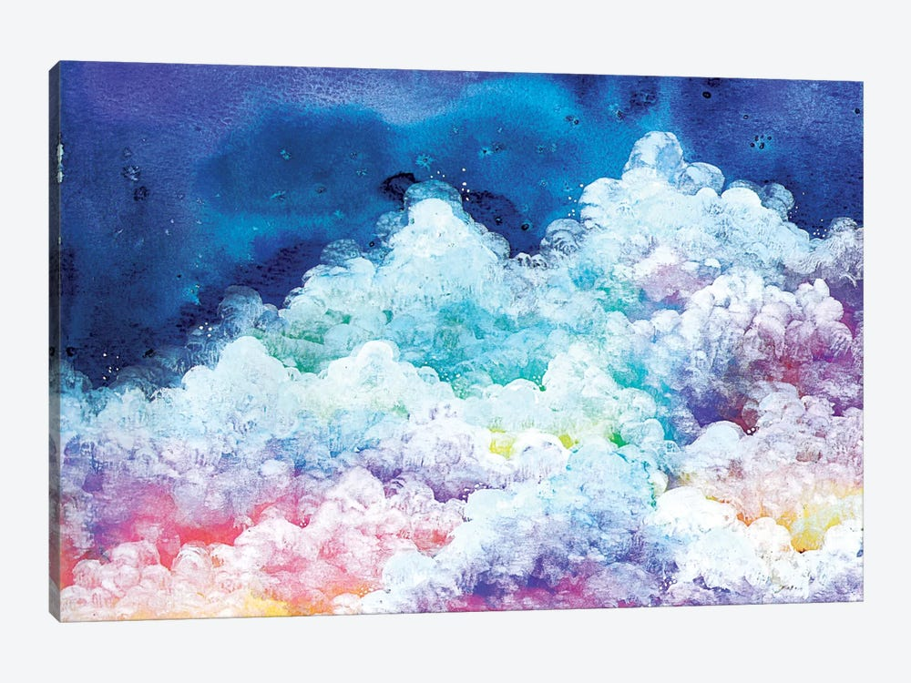 Clouds by Ana Victoria Calderon 1-piece Canvas Wall Art