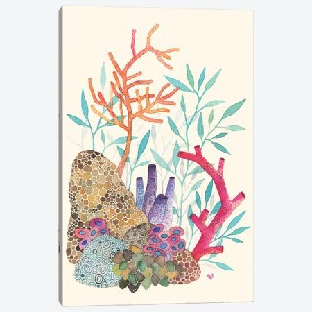 Coral Reef Canvas Print #AVC8} by Ana Victoria Calderón Canvas Art Print