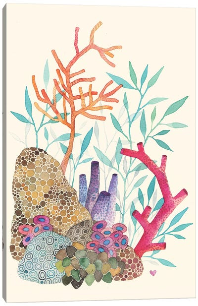 Coral Reef Canvas Print #AVC8