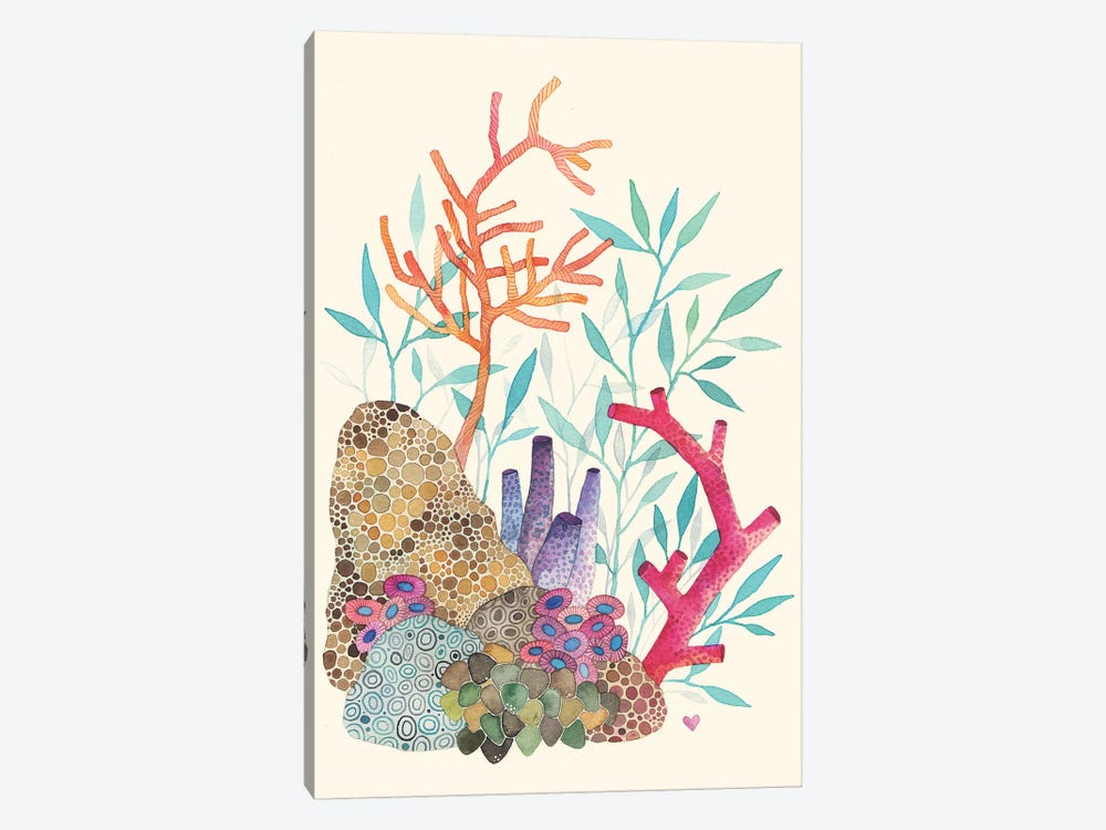 Coral Reef Canvas Art Print by Ana Victoria Calderon | iCanvas