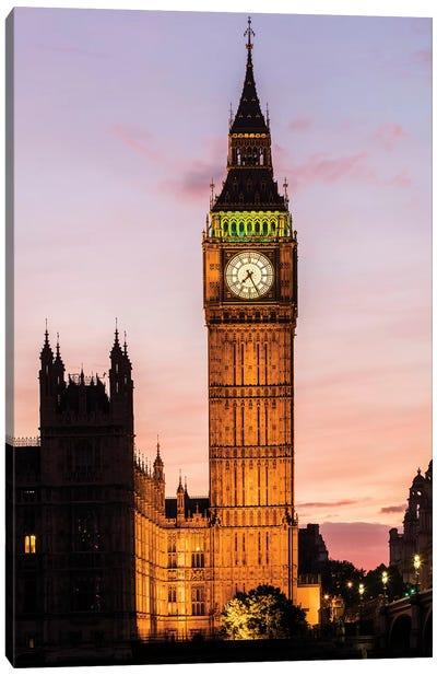 Big Ben - London, England, UK II Canvas Art Print