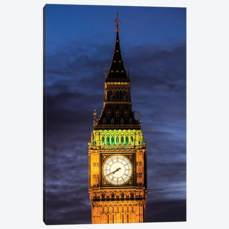 Big Ben - London, England, UK III Canvas Print #AVG11} by Andre Vicente Goncalves Canvas Wall Art