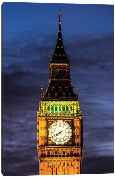 Big Ben - London, England, UK III Canvas Art Print