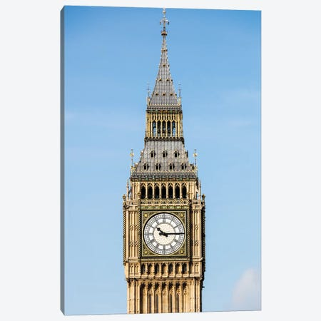 Big Ben - London, England, UK IV Canvas Print #AVG12} by Andre Vicente Goncalves Canvas Artwork