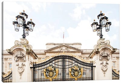 Buckingham Palace - London, England, UK Canvas Art Print