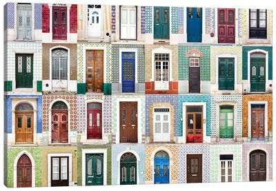 Doors of the World - Portugal  Canvas Art Print