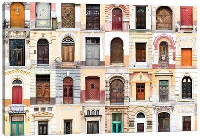 Doors of the World - Romania  Canvas Art Print