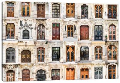 Doors of the World - Spain  Canvas Art Print