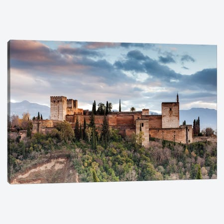 Alhambra - Granada, Andalusia, Spain I Canvas Print #AVG1} by Andre Vicente Goncalves Canvas Art Print