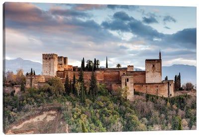 Alhambra - Granada, Andalusia, Spain I Canvas Art Print