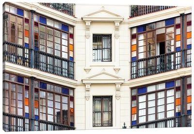 Façade - Barcelona, Catalonia, Spain I Canvas Art Print