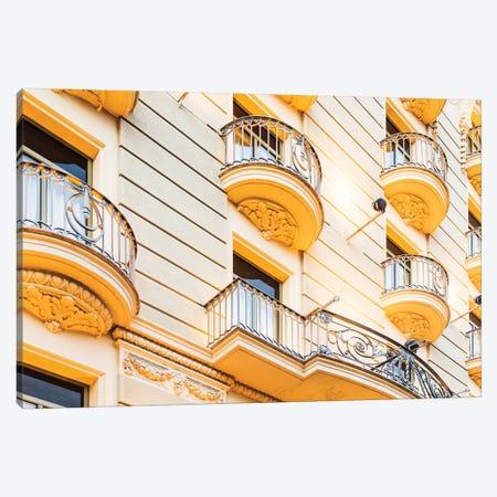 Façade - Barcelona, Catalonia, Spain III Canvas Print #AVG22} by Andre Vicente Goncalves Canvas Print