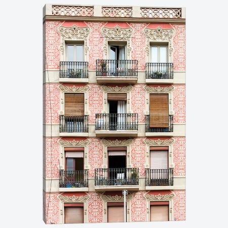 Façade - Barcelona, Catalonia, Spain IV Canvas Print #AVG23} by Andre Vicente Goncalves Canvas Art Print