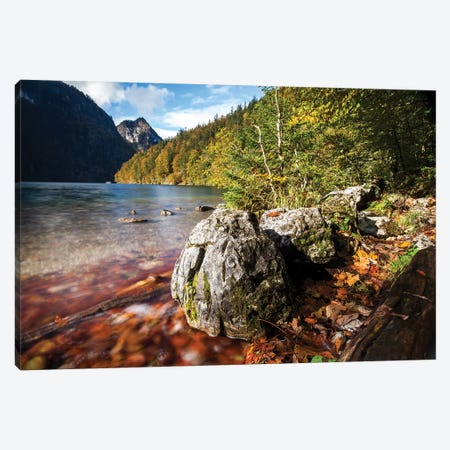 Konigssee Schonau am Konigssee, Bavaria, Germany I Canvas Print #AVG26} by Andre Vicente Goncalves Canvas Artwork