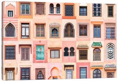 Windows of the World - Marrakesh, Morocco Canvas Art Print