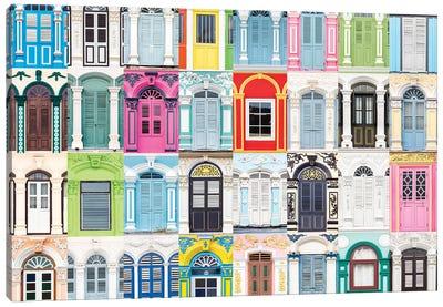 Windows of the World - Phuket. Thailand Canvas Art Print