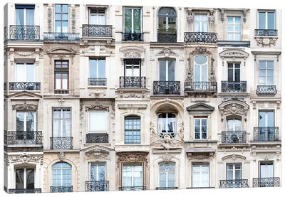Windows of the World - Paris, France Canvas Art Print