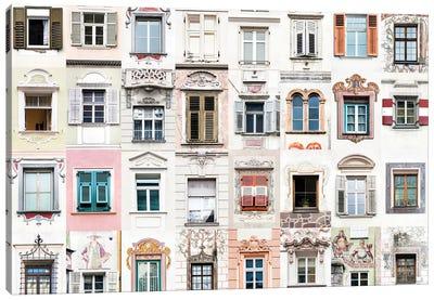 Windows of the World - The Alps  Italy & Austria   The Alps Canvas Art Print