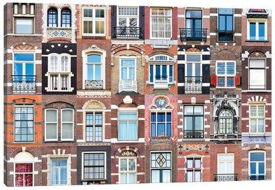 Windows of the World - Amsterdam, Netherlands Canvas Art Print