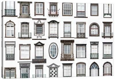 Windows of the World - Ponta Delgada, San Miguel, Azores, Portugal Canvas Art Print