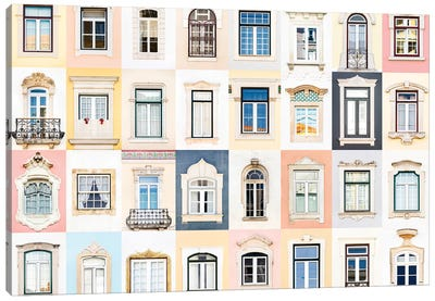 Windows of the World - Coimbra, Portugal Canvas Art Print