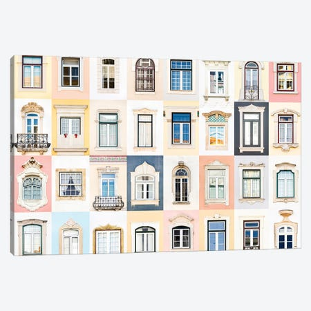 Windows of the World - Coimbra, Portugal Canvas Print #AVG46} by Andre Vicente Goncalves Canvas Artwork