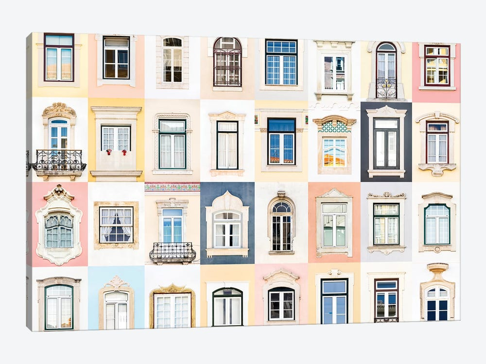 Windows of the World - Coimbra, Portugal by Andre Vicente Goncalves 1-piece Art Print