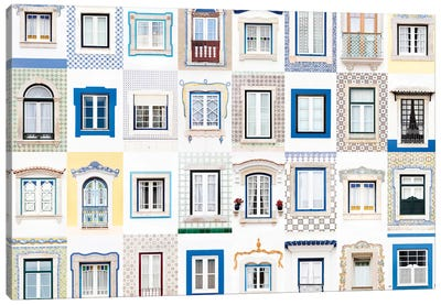 Windows of the World - Ericeira, Portugal Canvas Art Print