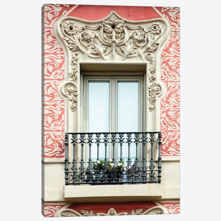 Balcony - Barcelona, Catalonia, Spain Canvas Print #AVG4} by Andre Vicente Goncalves Canvas Art