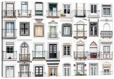 Windows of the World - Montemor o Novo, Portugal Canvas Art Print