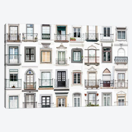 Windows of the World - Montemor o Novo, Portugal Canvas Print #AVG53} by Andre Vicente Goncalves Canvas Art