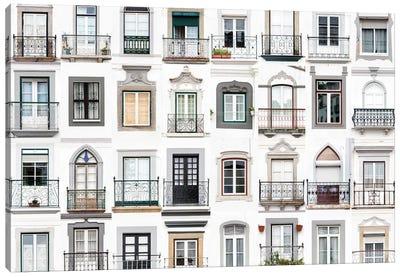 Windows of the World - Montemor o Novo, Portugal Canvas Art Print